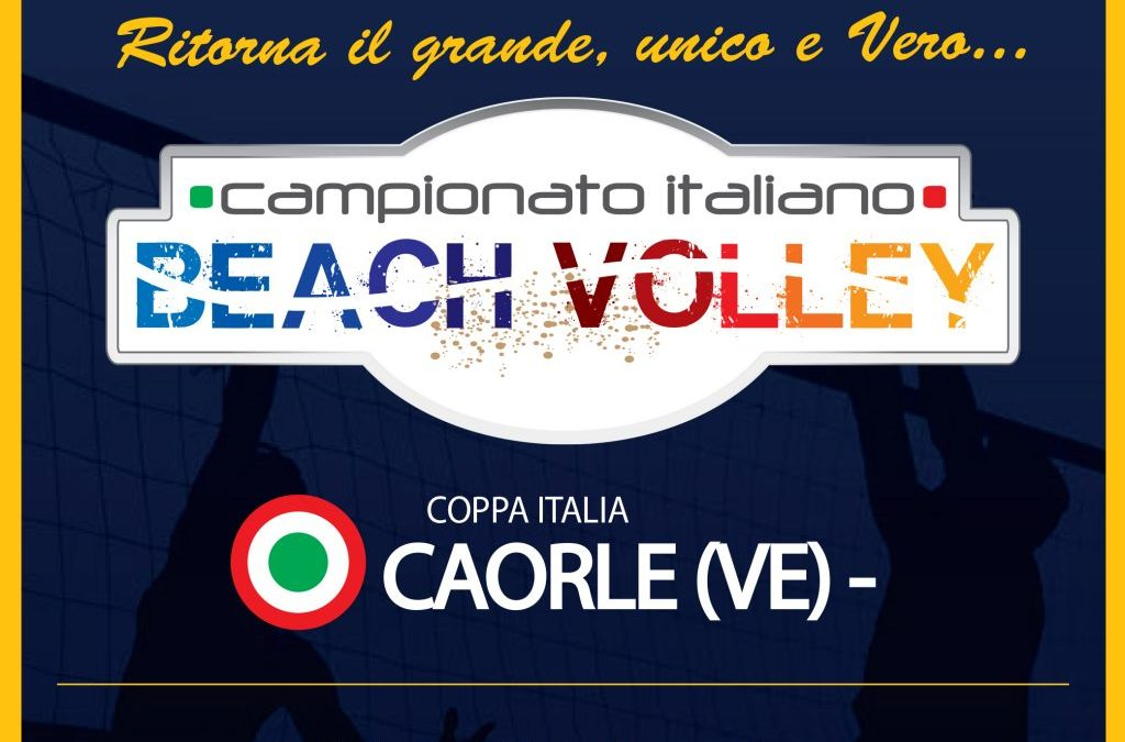 Beach Volley: Campionato U19 e U21 – Caorle