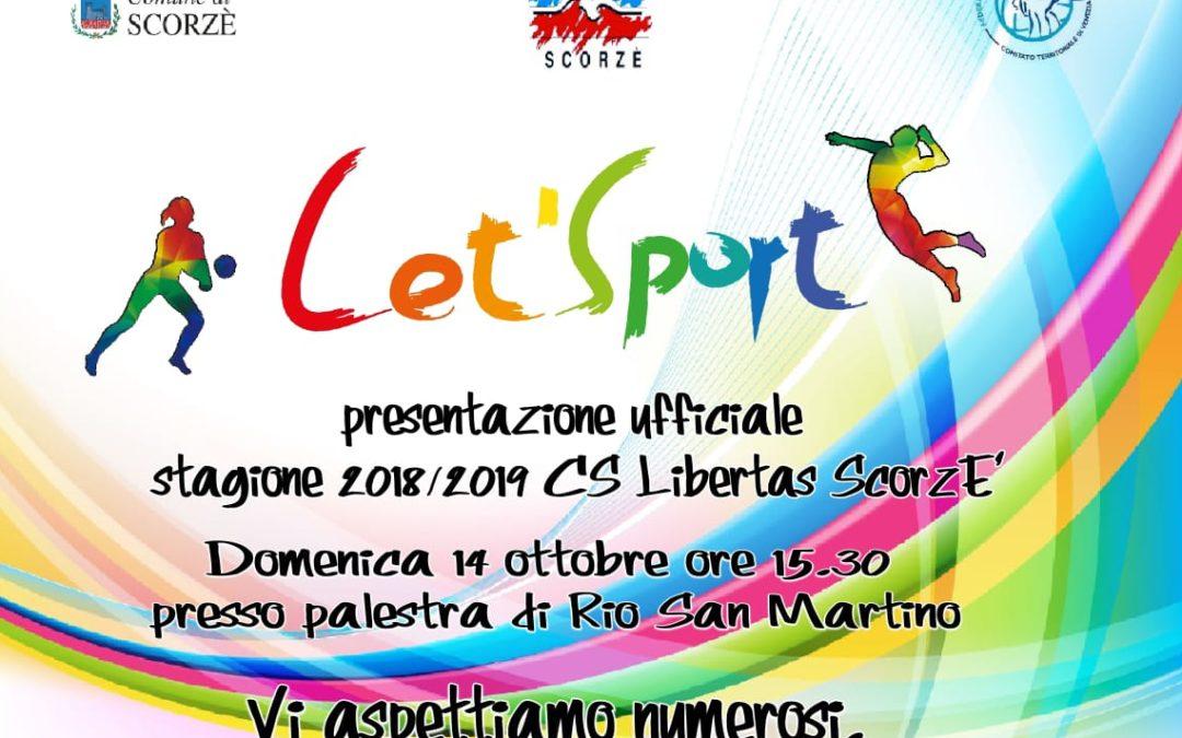 Presentazione CS Libertas Scorzè