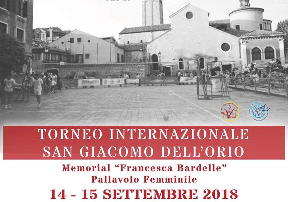 Trofeo San Giacomo dell'Orio – Memorial Francesca Bardelle