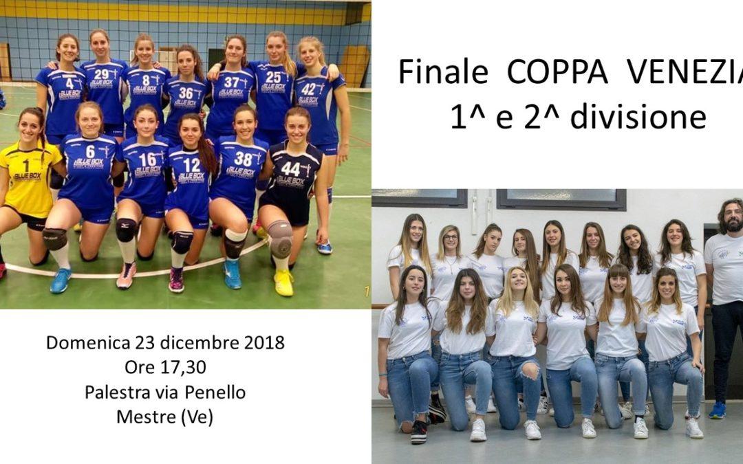 Finale Coppa Venezia 1^ e 2^ divisione