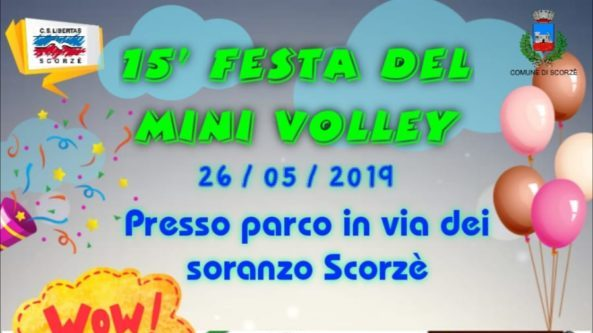 Festa volley S3 – Scorzè