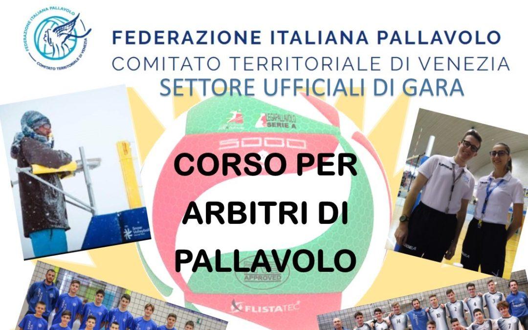 Corso Arbitri – Ottobre 2019