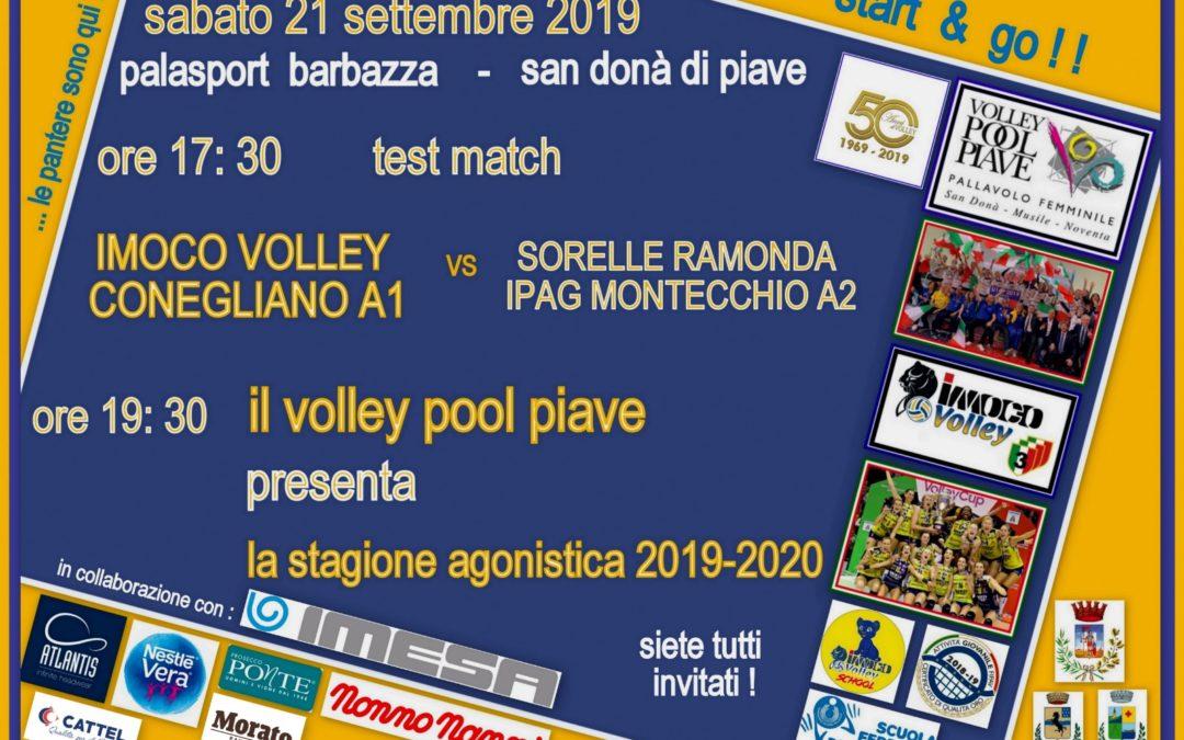 Inizio stagione Volley Pool Piave