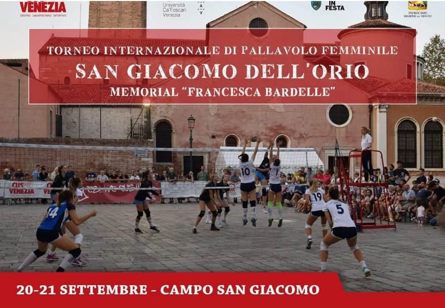 """Torneo San Giacomo dell'Orio – Memorial """"Francesca Bardelle"""""""
