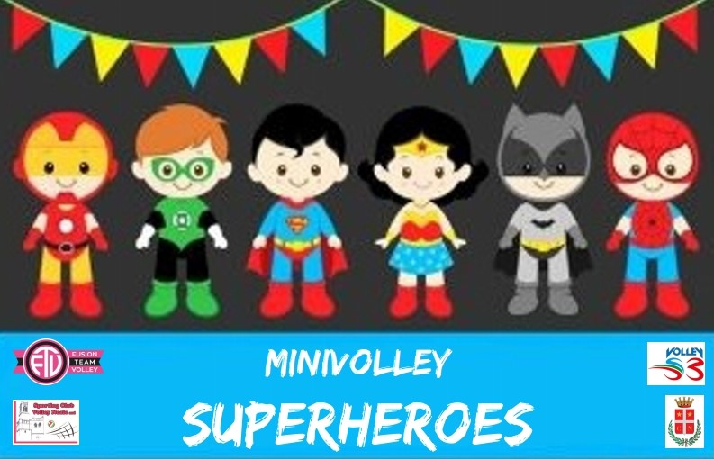 Torneo Volley S3 – SUPERHEROES