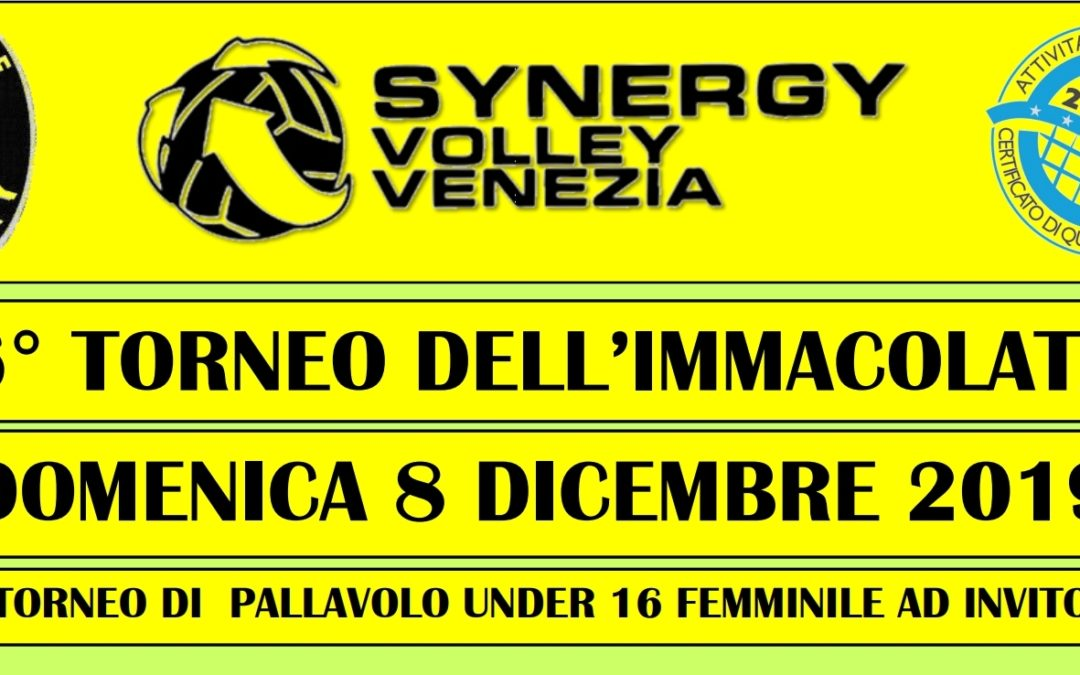8° Torneo dell'Immacolata – Synergy