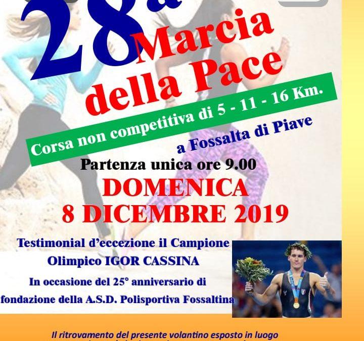 28^ Marcia della Pace – Polisportiva Fossaltina