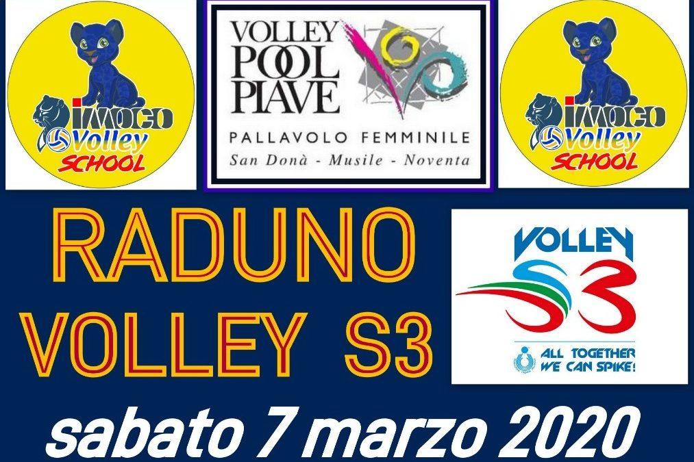 Raduno Volley S3 – Palasport Fontebasso – Noventa di Piave